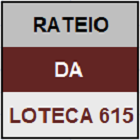 LOTECA 615 - MINI RATEIO