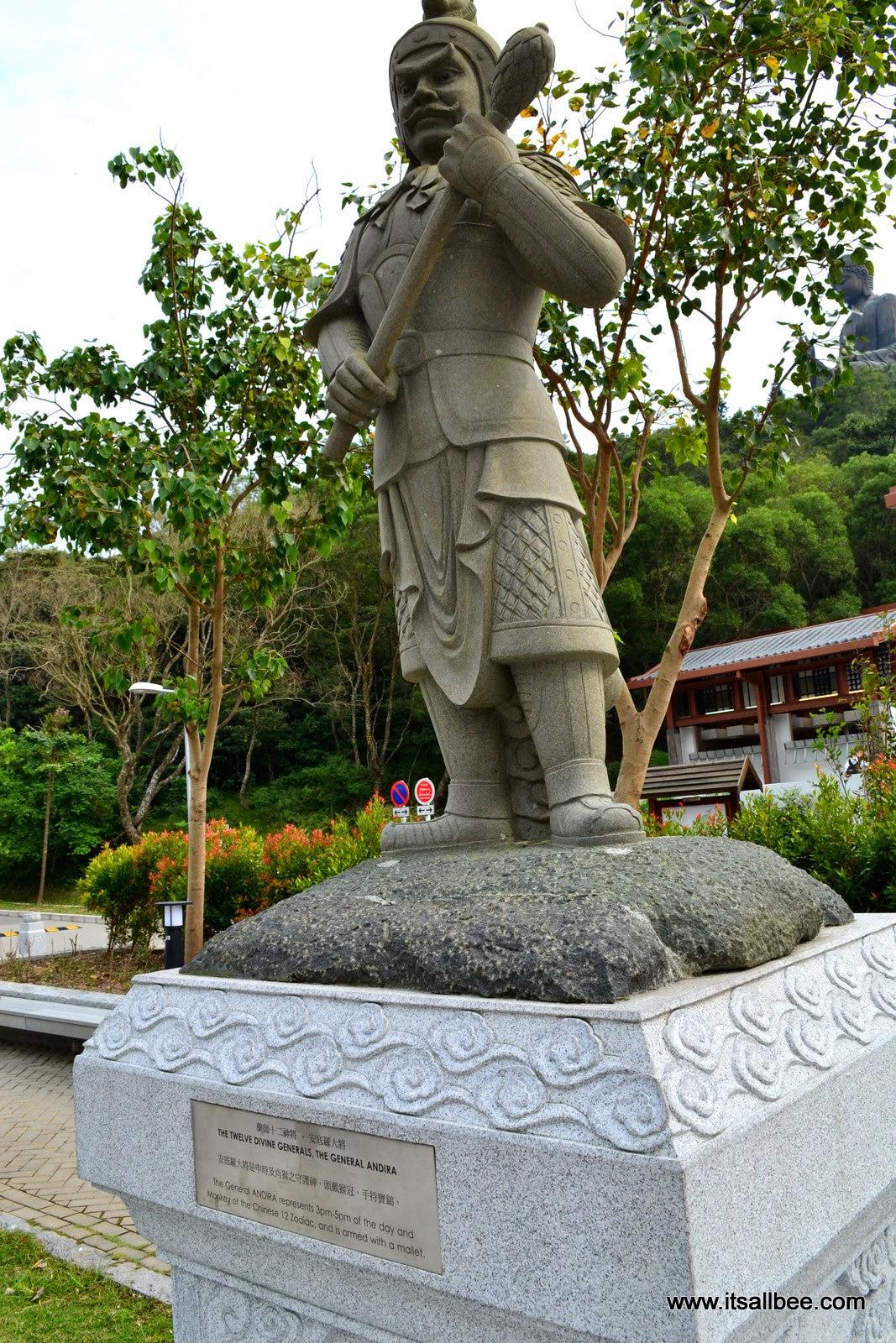 Lantau Island | Big Buddha & Twelve Divine Generals HONG KONG