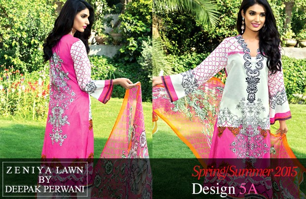 Summer Season's Best Lawn Collection Of Zeniya By Deepak Perwani