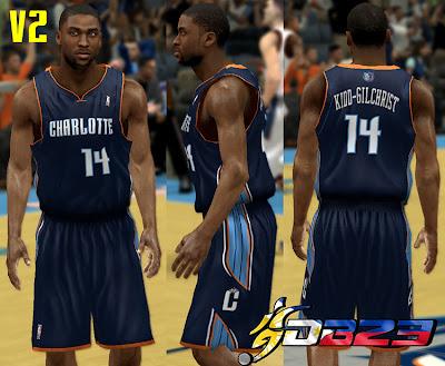 NBA 2K13 Charlotte Bobcats Jersey Patch