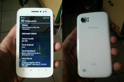 Imo Discovery S88 putih