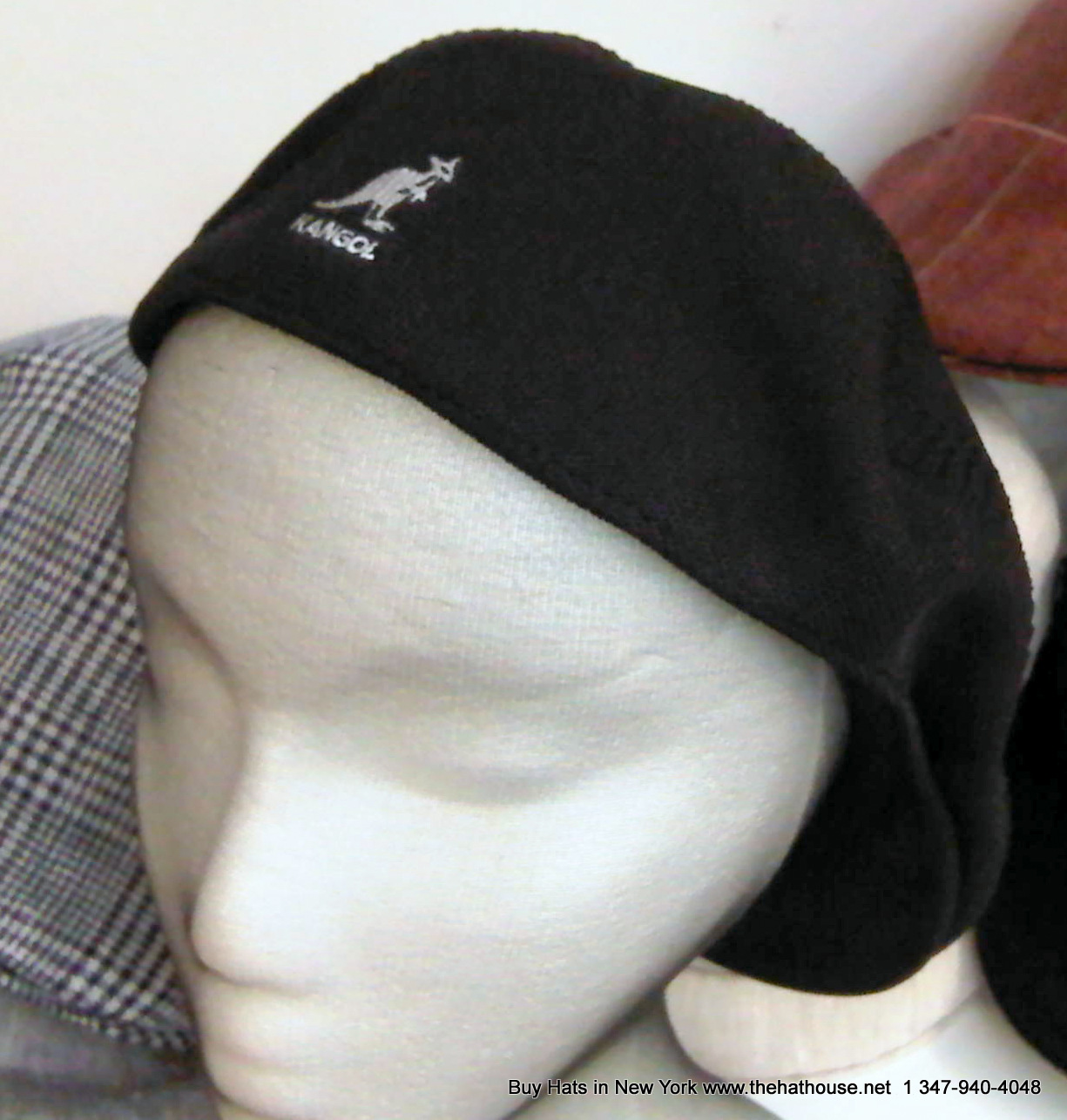 Kangol Flat Cap from The Hat House NY 347-640-4048