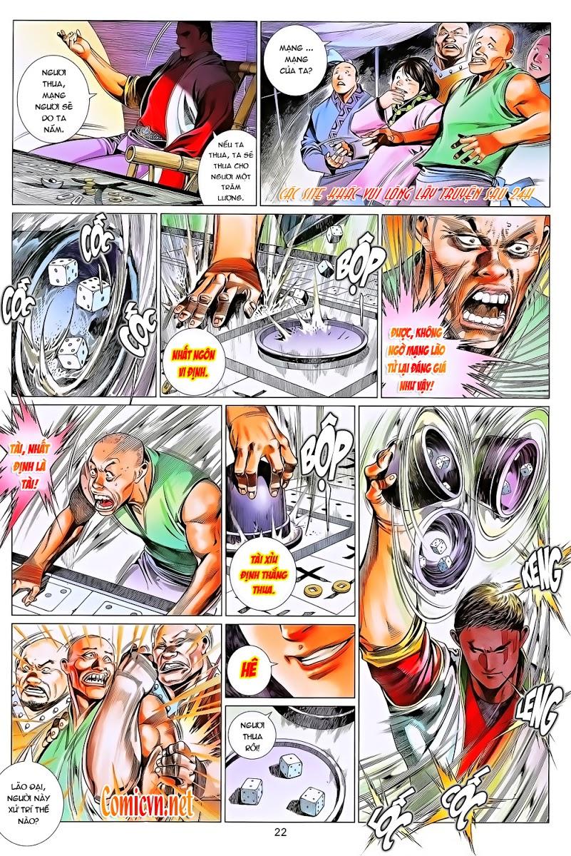 Phong Vân chap 643 Trang 22 - Mangak.info