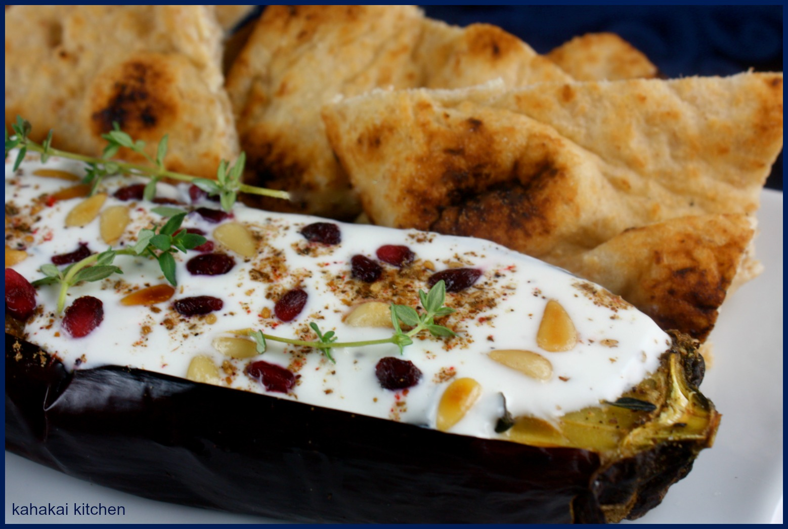 Kahakai Kitchen: Ottolenghi's Eggplant with Buttermilk-Yogurt Sauce ...