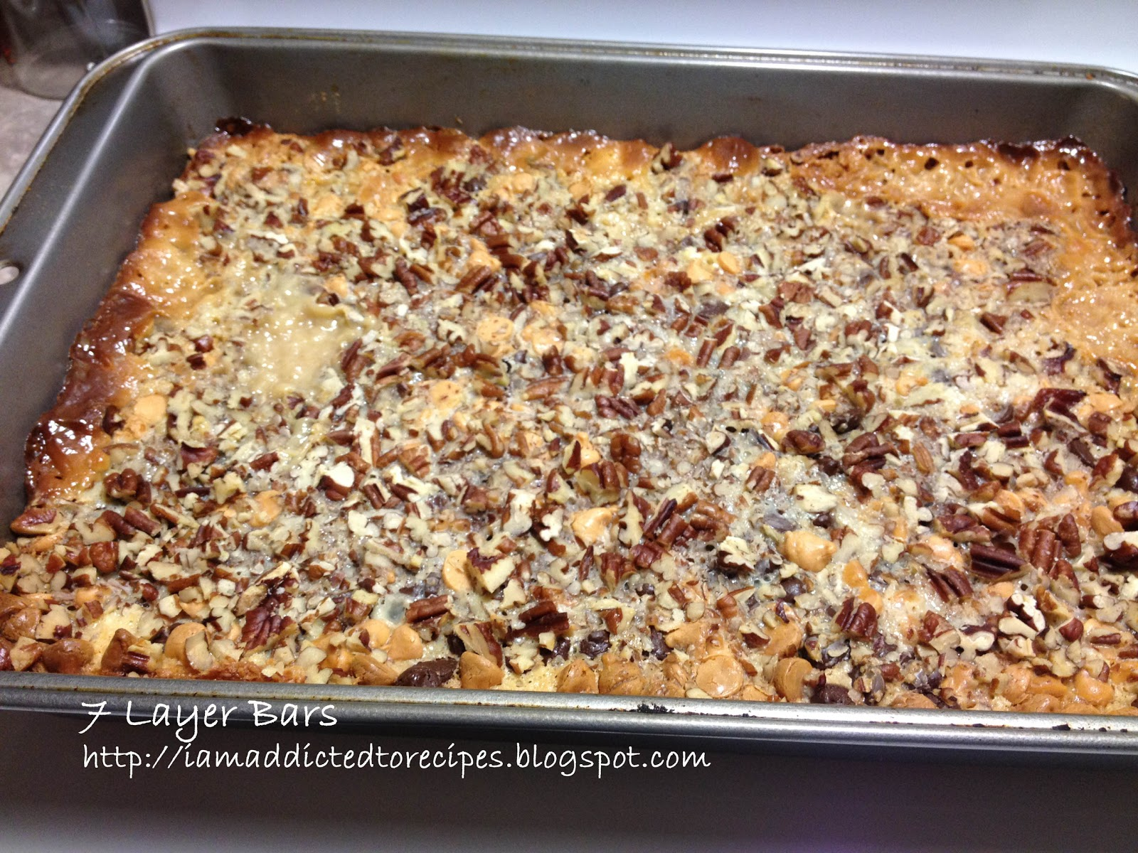 Layer Cookie Bars recipe - Tales of a Ranting Ginger