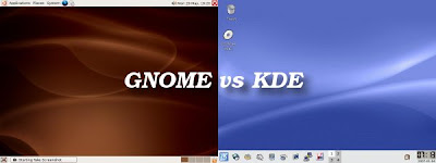 Gnome 2 vs KDE 3.5