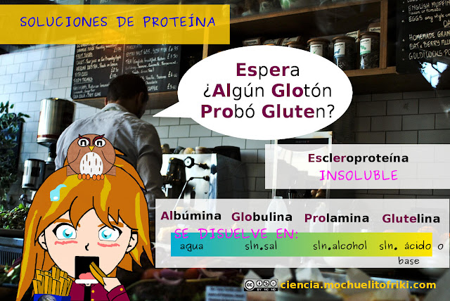 proteína gluten mnemotécnicos