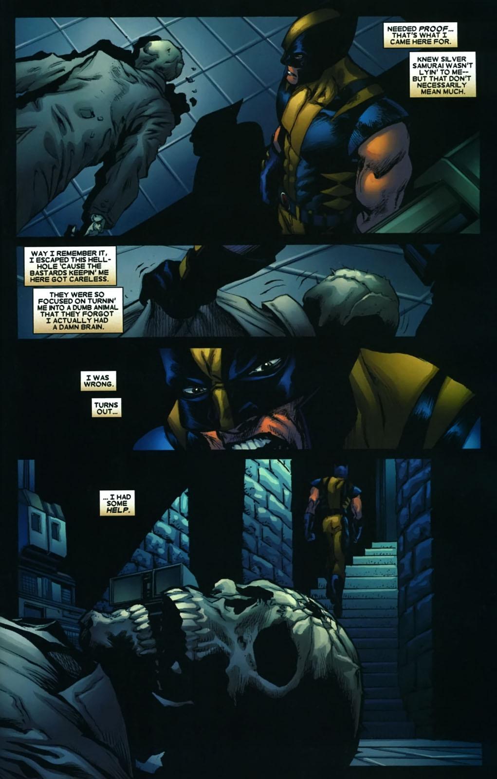Read online Wolverine (2003) comic -  Issue #38 - 20
