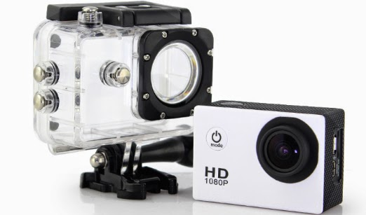 SJ4000 – Action camera com melhor custo-benefício.