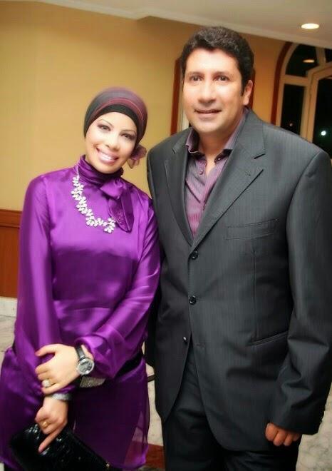 مع الفنان هانى رمزى عام 2009