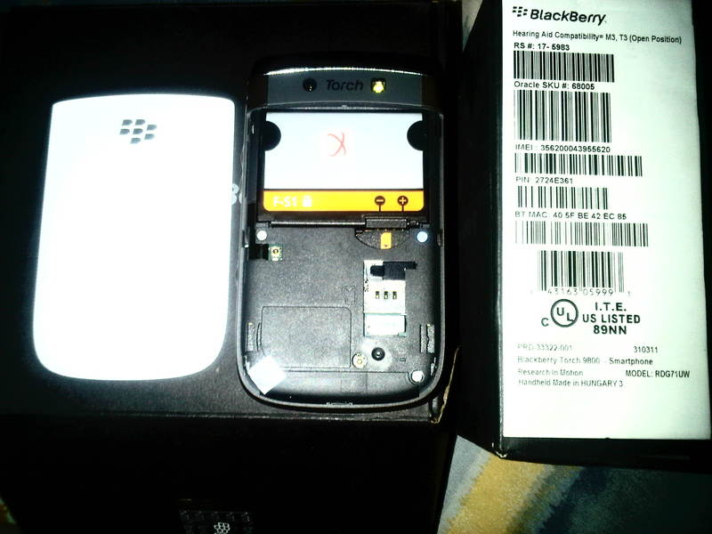 Cara Cek Imei Blackberry