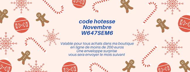 code hôtesse novembre