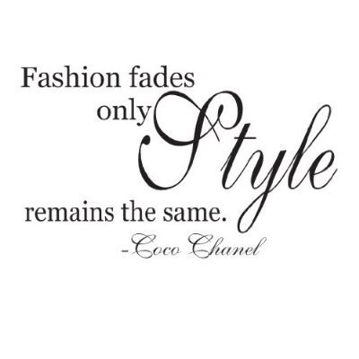 Coco Chanel Quotes About Fashion