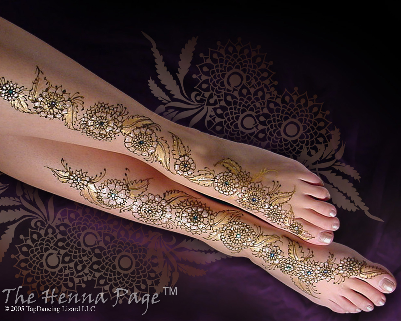 Latest mehndi design and henna tattoos beautiful mehndi for How is a henna tattoo done