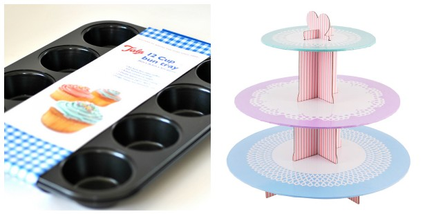 Tala 3 tier cake stand and bun tray