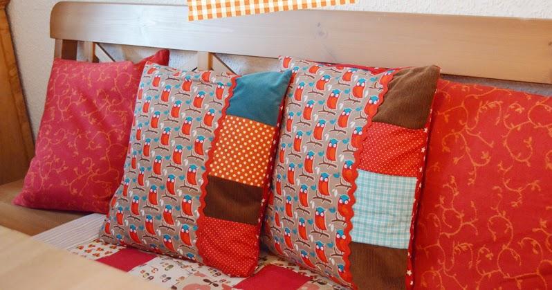 kissen f r die k chenbank mara zeitspieler. Black Bedroom Furniture Sets. Home Design Ideas
