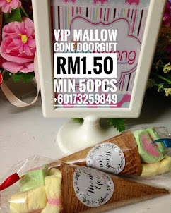 VIP MALLOW CONE DOORGIFT