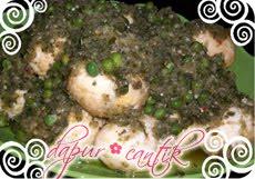 Gambar Resep Masakan Balado Hijau Telur Campur Kacang Polong Dapur Cantik