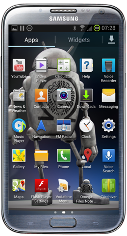 Omega ROM for Samsung Note 2 Android 4.3 Jelly Bean