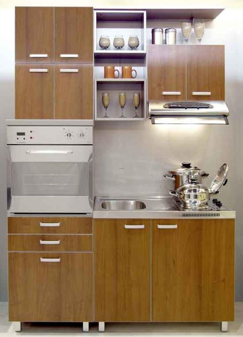 Aprovechar el espacio en cocinas peque as ideas para for Small house kitchen designs