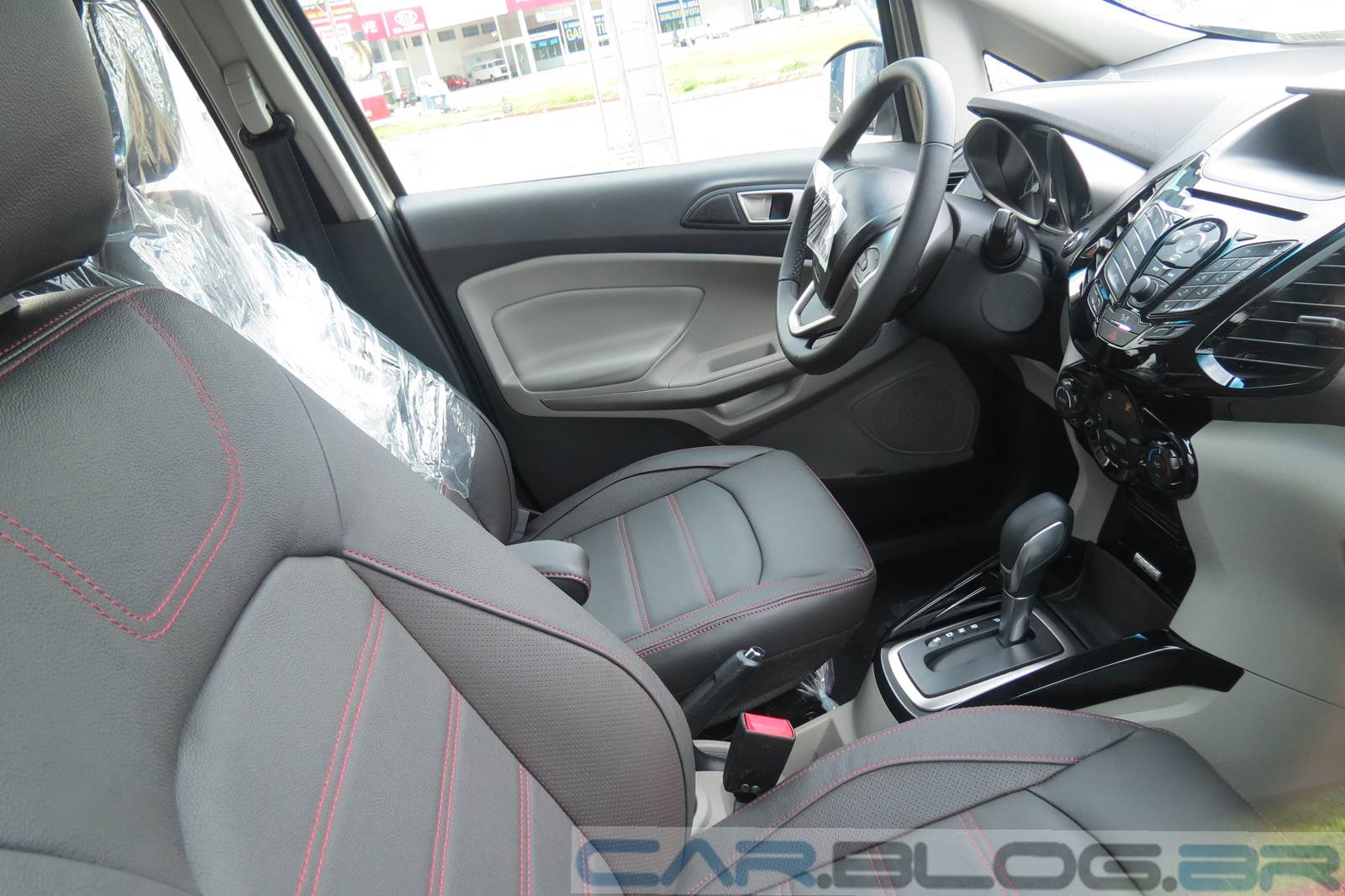 Ford EcoSport Powerhift - interior