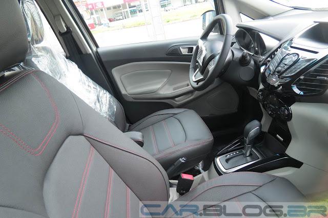 Nova Ford EcoSport Titanium Automatica 2014 - interior