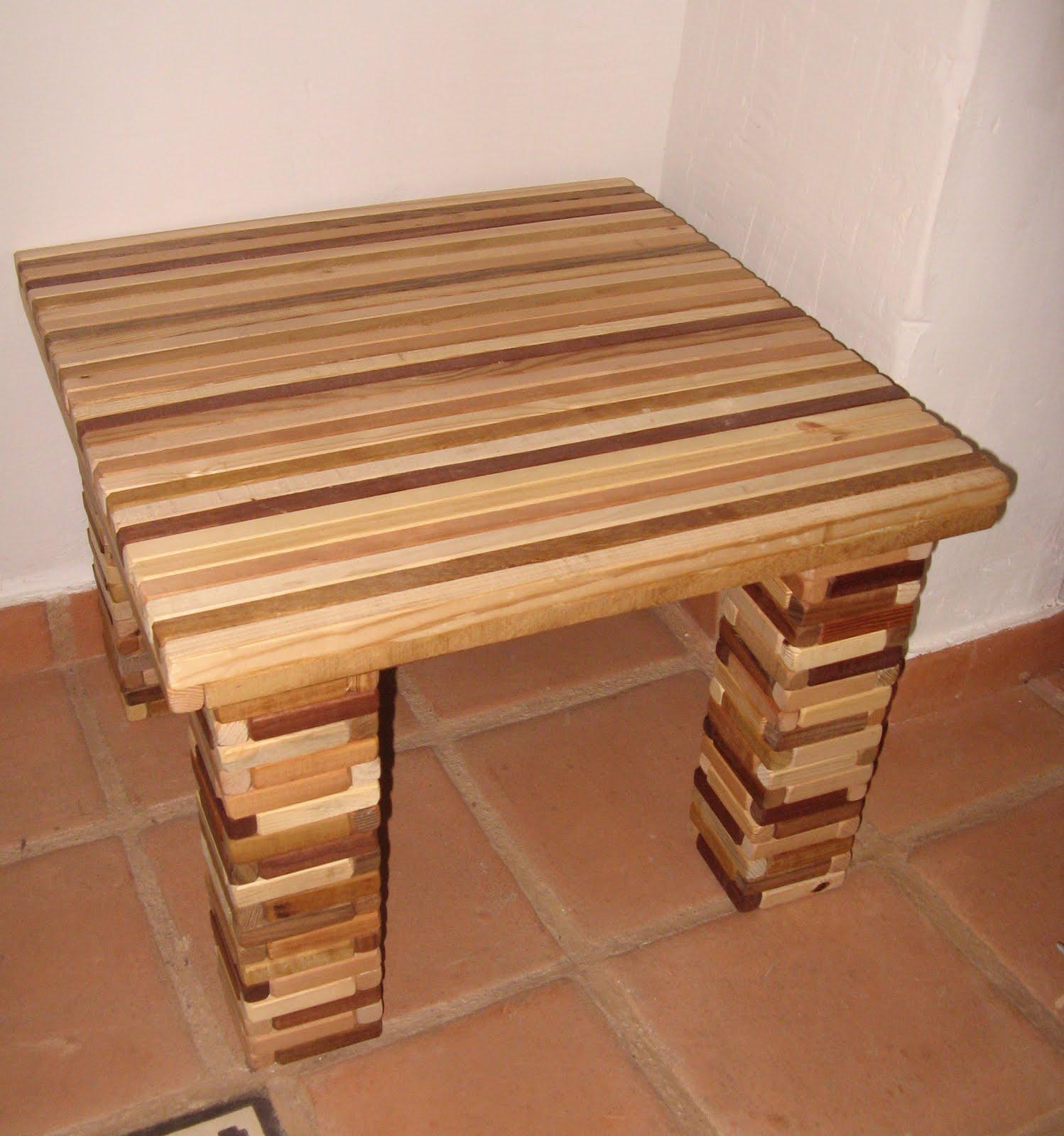 Mesas de maderas crea tu propia mesa reciclando palets - Precio listones madera ...