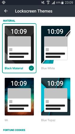 Slidejoy pantalla de bloqueo
