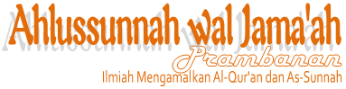 Ahlussunnah wal Jama'ah Prambanan