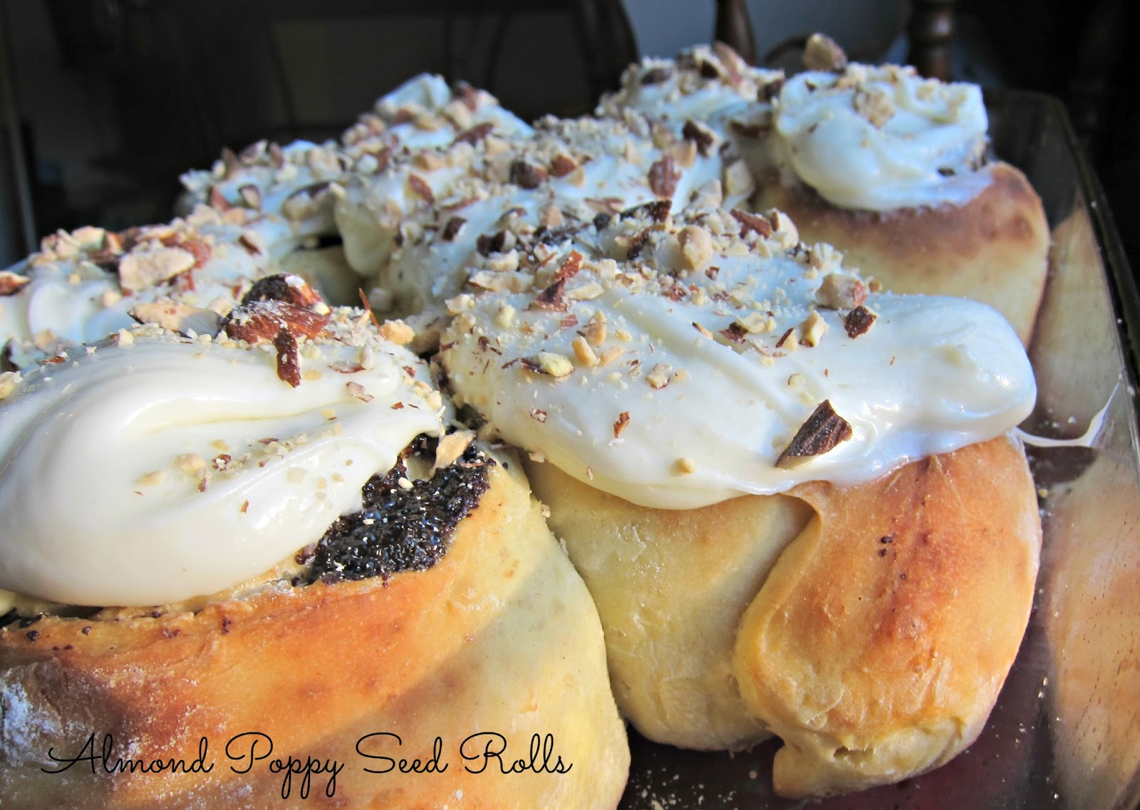 Almond Poppy Seed Cake Gluten Free