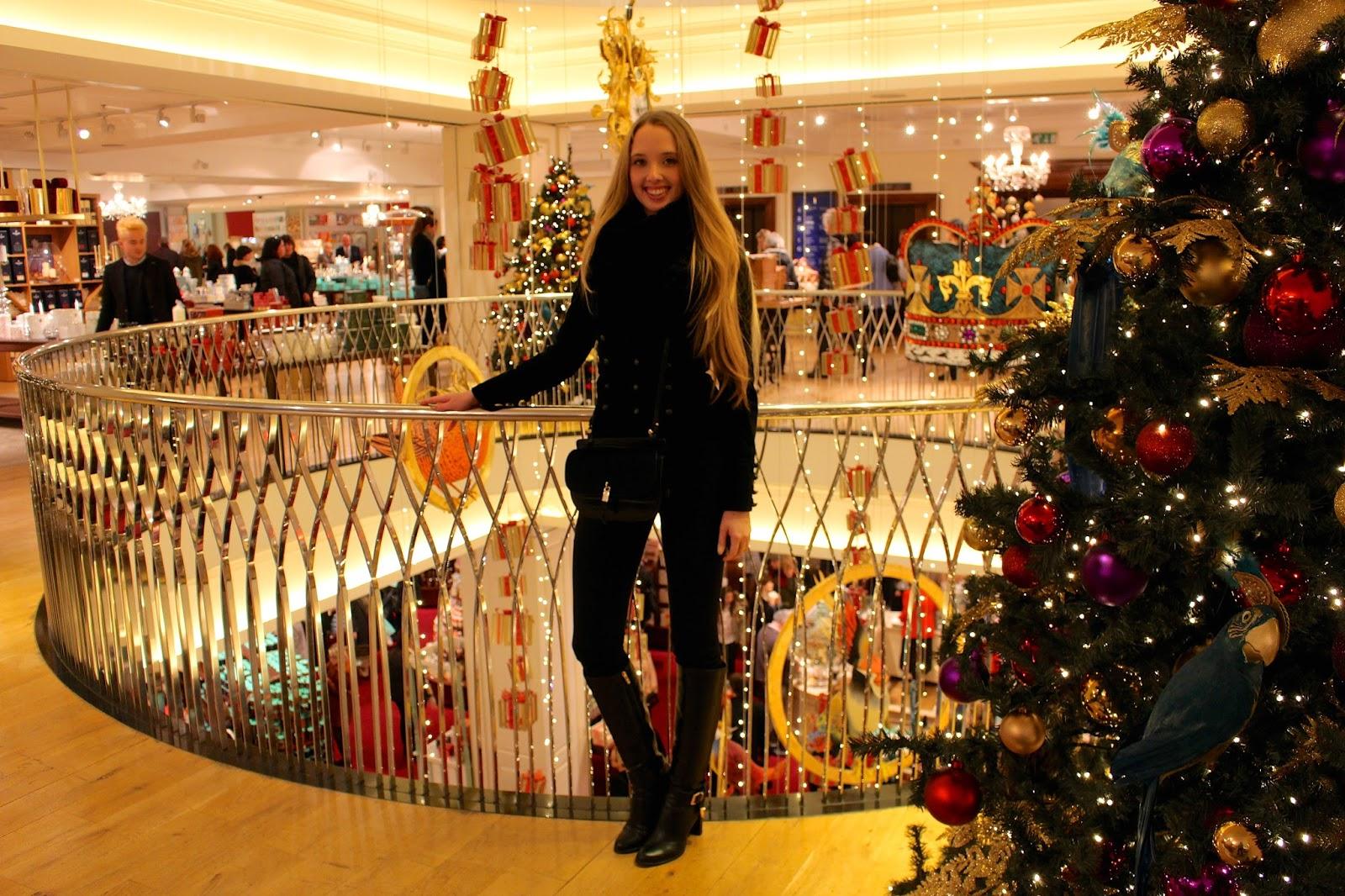 fortnum and mason christmas shopping 2015