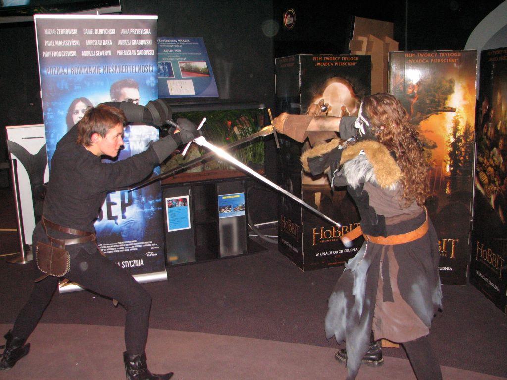 Walki przed premierą Hobbita