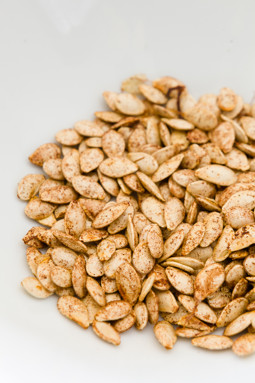 Sweet & Salty Toasted Pumpkin Seeds