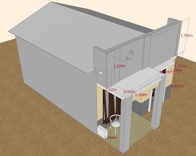 Desain Rumah Mungil Sederhana on Astudioarchitect Com  Desain Rumah Mungil Sederhana 5x7m