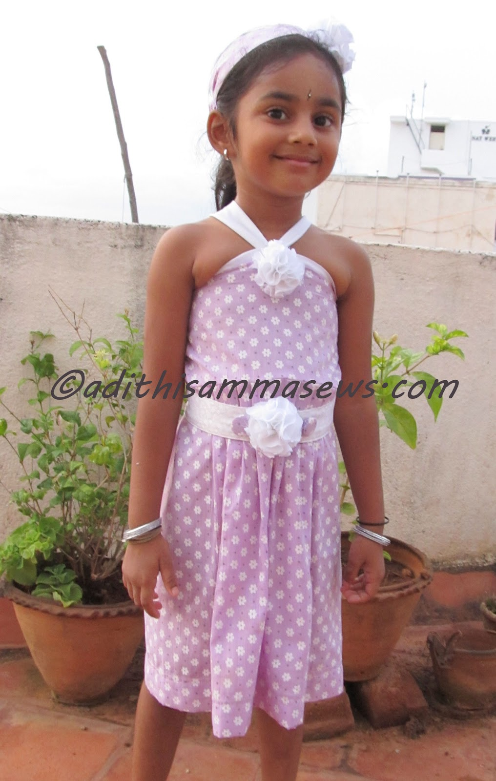 Adithis amma sews cute confessions of a sew addict back to entire dress set with headband and belt jeuxipadfo Images