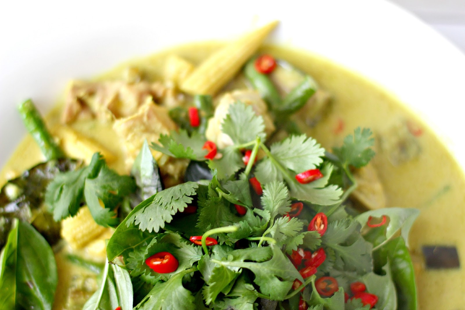 Milk and Honey: Thai Green Chicken Curry
