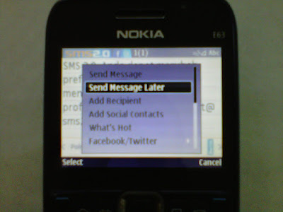 Send Message Later SMS 2.0