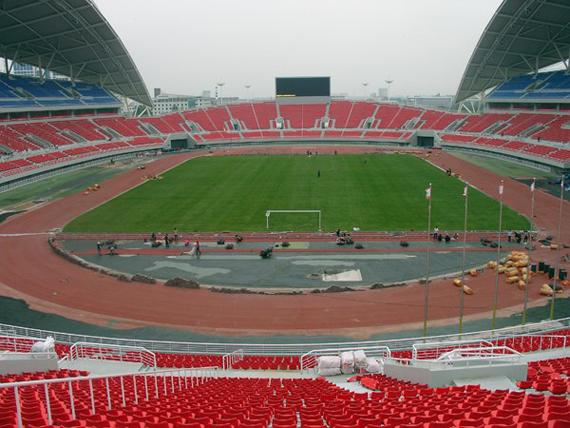 """Weifang China  city photo : sportcampina: Weifang China – """"Weifang Sports Center Stadium"""""""
