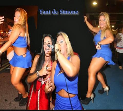 Yani Simone Canta y Baila Samba Ensayo Escuela Samba
