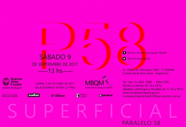 """Llega """"Superficial"""" al Museo Quinquela, Bs As"""