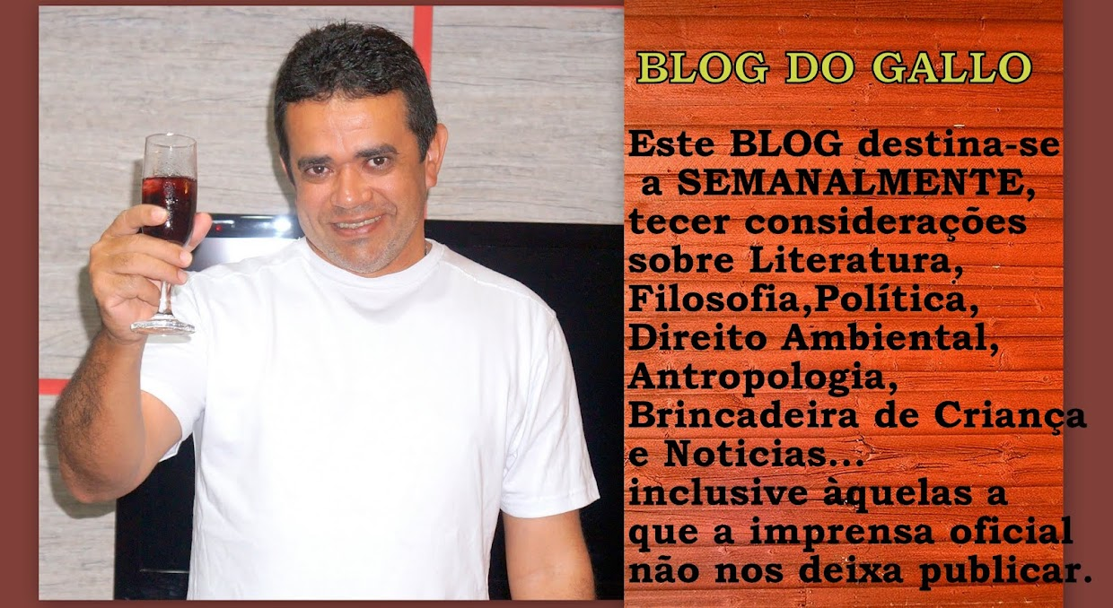 BLOG DO GALLO um semanário