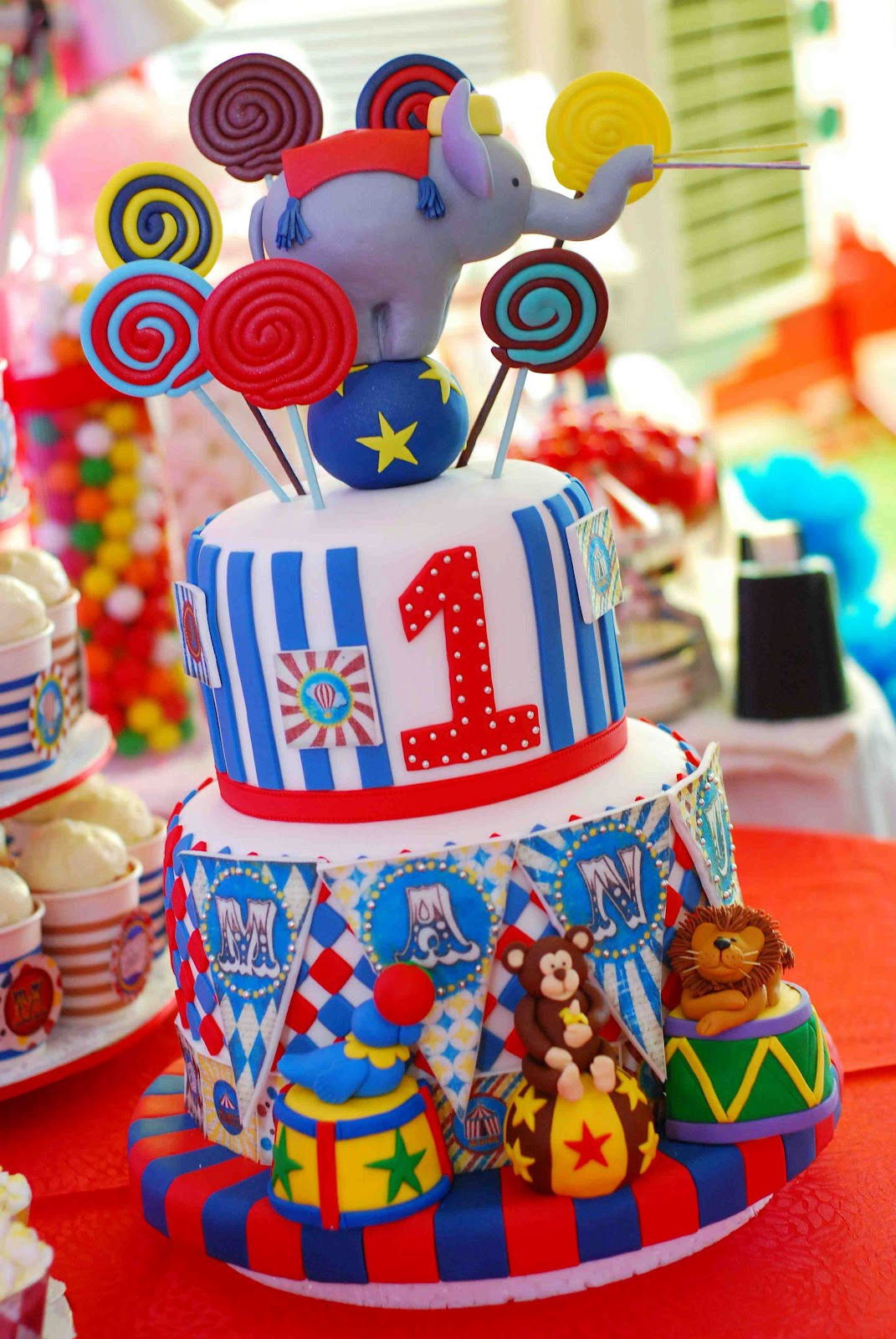 j a j a r a m a Manus 1st Birthday Carnival