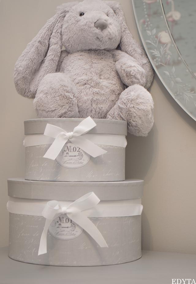 decoración dormitorio infantil en tonos grises