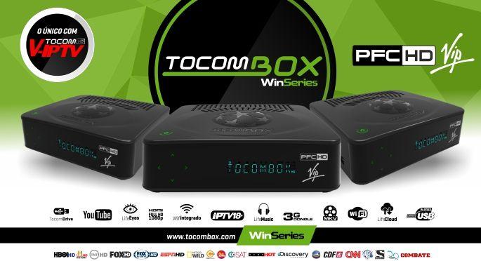 Tocombox PFC VIP Atualização Caracteristicas e vídeo de lançamento