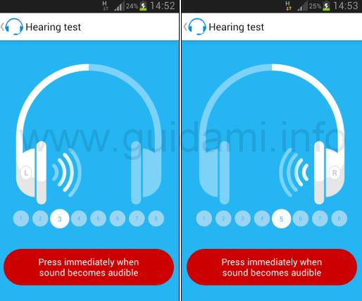 Petralex Hearing aid test audiometrico