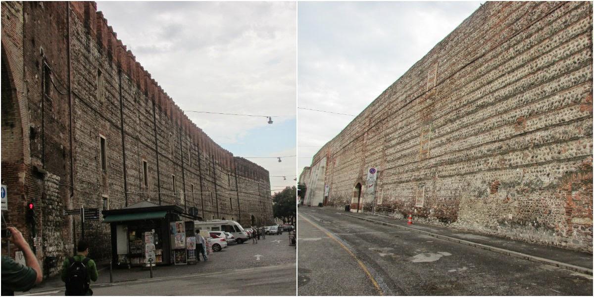 Itália, Verona, muralha