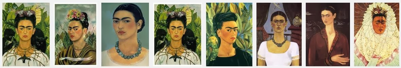 "Frida Kahlo ""Selfies"""