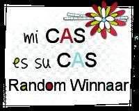 Mi CAS es su CAS #1 Random Winnaar