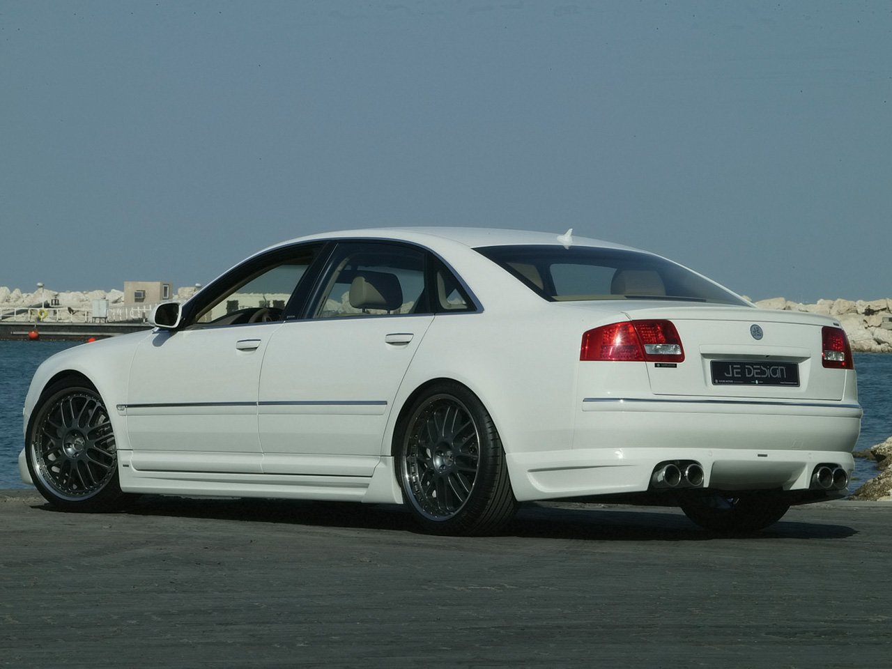 Vag Cars Pictures Audi A8 White