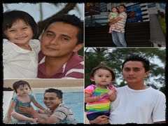 PaPa WiTH OuR LiL Nia ^____*